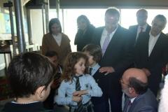 Visita do Ministro do Ambiente e da Transição Energética ao Colégio Novo da Maia