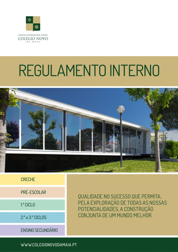 Capa Regulamento Interno