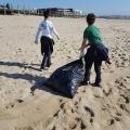Limpeza Praia de Angeiras 2018 Projeto A+ - 5.º Ano