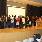 Atuação dos alunos do 8.º ano, ensaiada no âmbito da disciplina de Expressão Dramática 02